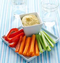 Healthy snacks from vegetable