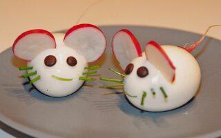 Fun mice eggs fo kids