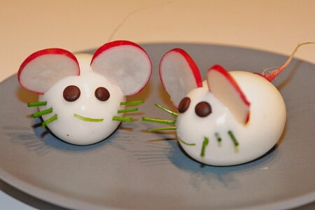 Fun mice eggs fo kids