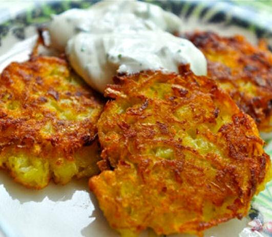 Potato Pancakes - Toddler Snacks