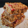 Raw cherry bars healthy snacks recipes