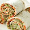 Healthy Snack Recipes - Veggie Lavash Rolls