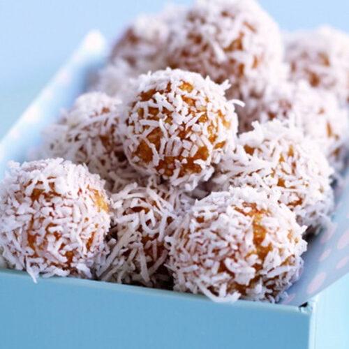 Apricot Muesli Balls - Healthy Snack Recipes