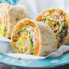 Tuna & Salad Rolls - Healthy Snack Recipes