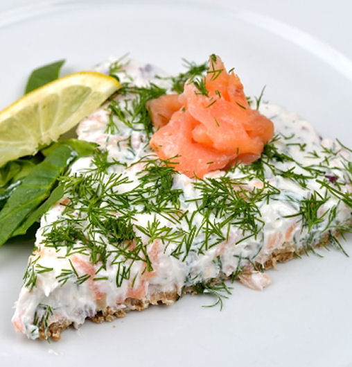 No Cook Salmon Cake - Easy Appetizers