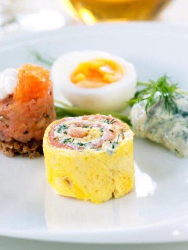 Healthy Egg Rolls - Healthy Breakfast Ideas