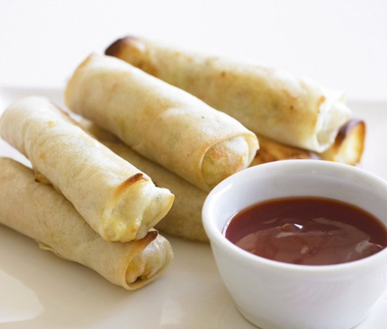 Chicken and Veggie Spring Rolls