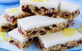 Cranberry Lemon Snack - Healthy Sweet Snacks