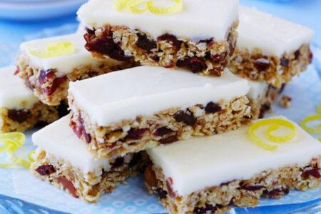 Cranberry Lemon Snack - Healthy Sweet Snacks
