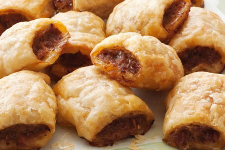 Easy Sausage Snack Rolls - Healthy Snacks for kids