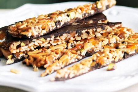 Healthy Sweet Snacks - Walnut Florentines