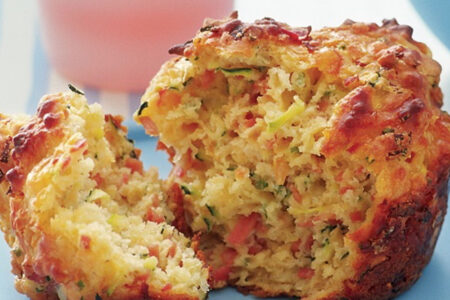 Savoury Breakfast Muffin - Healthy Breakfast Ideas