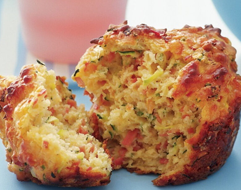 Savoury Breakfast Muffin - Healthy Breakfast Ideas