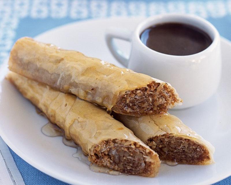 Baklava With Honey Syrup 187 Easy Snack Recipes