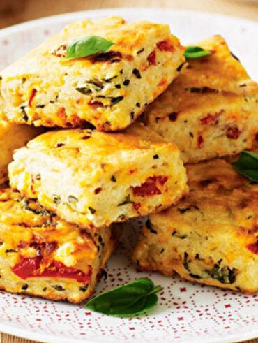 Italian Breakfast Scones - Healthy Breakfast Ideas