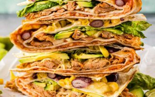 These Quick Tortilla Snack Hack Recipes are easy to make for breakfast just in a few minutes. The cheesy Mexican, The Pulled Chicken, or the Mozzarella Caprese style is also great for dinner. Dessert lovers can try the Nutella Banana Sandwich or the Protein-Packed Healthy Peanut Butter Flavoured. Best recipe idea for lunch too.