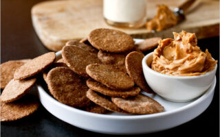 Homemade Whole Grain Crackers