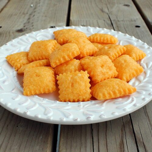 Cheddar Cheese Snack Crackers