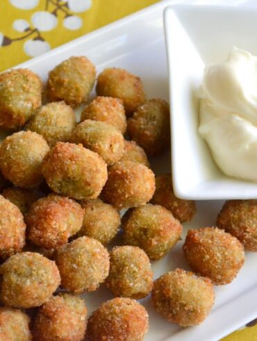 Healthy Fried Olives Recipe