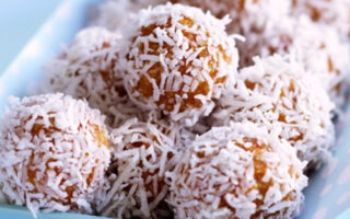 Apricot Muesli Balls - Healthy Snack Recipes
