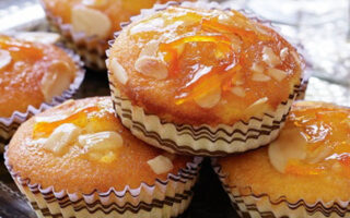 Glazed Orange and Almond Cakes - Healthy Sweet Snacks