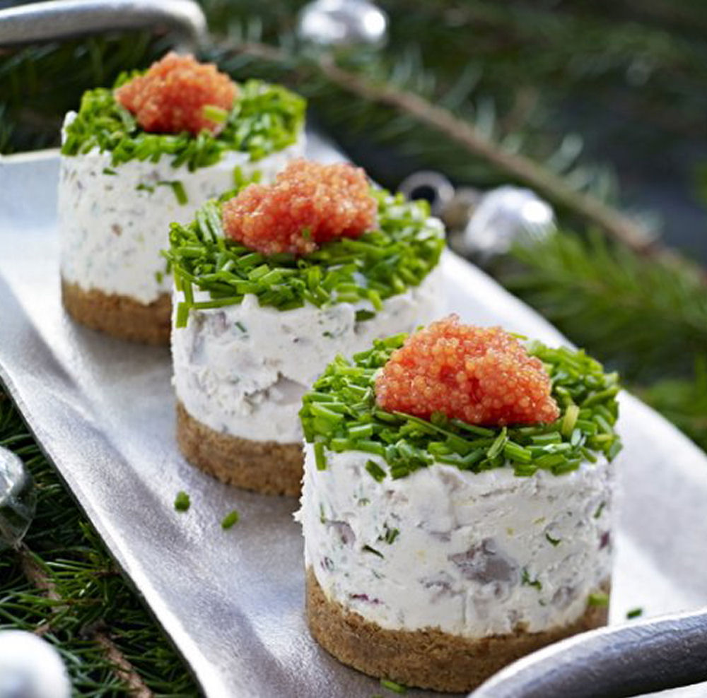 Healthy Pickled Hering Pastries - Healthy Appetizers