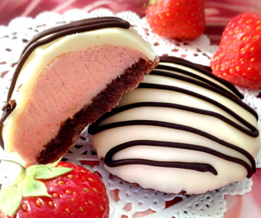 Strawberry Biscuits - Healthy Sweet Snacks