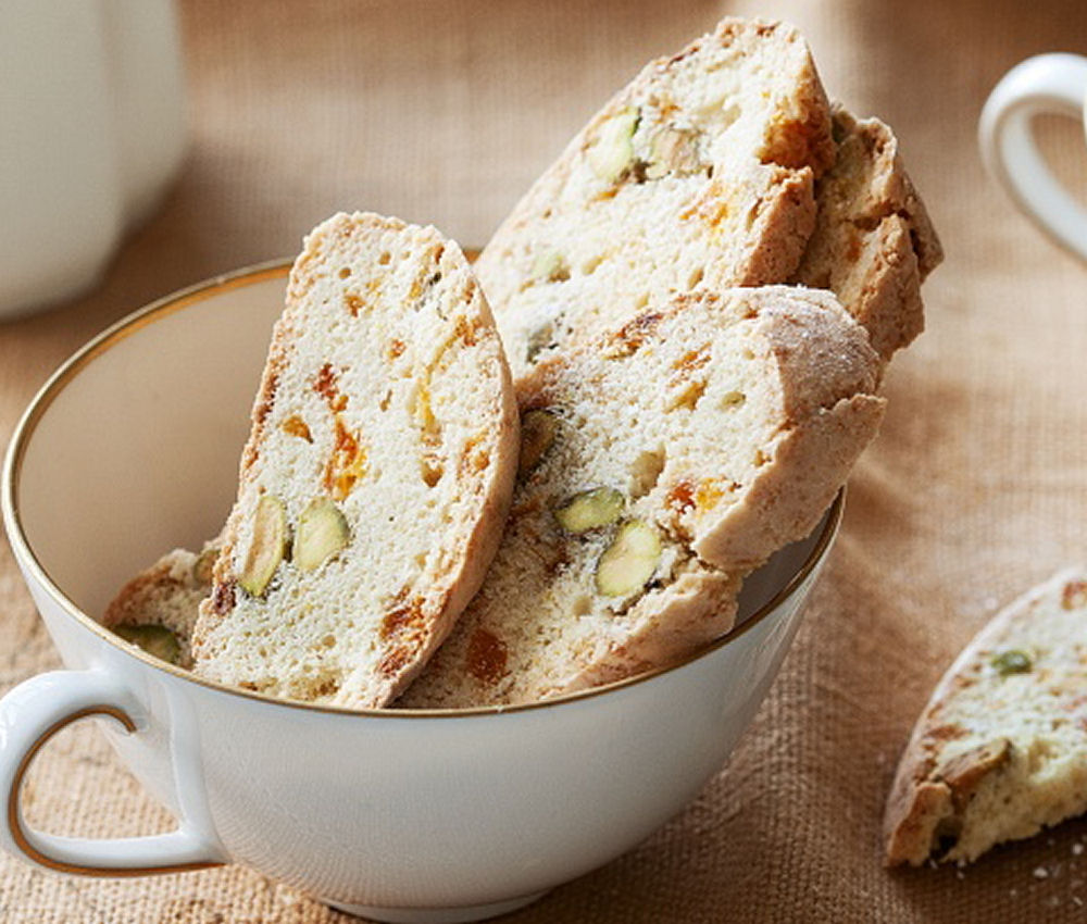Apricot and Pistachio Biscuit - Healthy Sweet Snacks