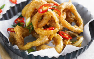 Sichuan Onion Rings - Healthy Snack Recipes