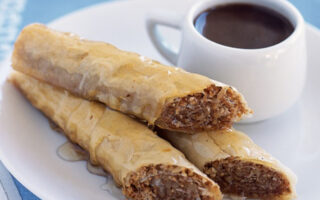 Baklava with Honey Syrup - Healthy Sweet Snacks