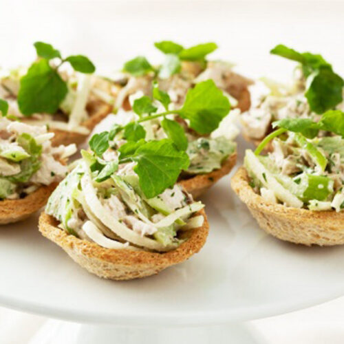 Waldorf Party Tartlets - Party Food Ideas